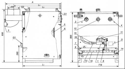 Схема котла сигнал 10